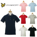 Lyle & Scott mens short sleeve polo shirt VINTAGE KC703V22 MNS TIPPED POLO LYLE &SCOTT
