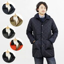 MACKINTOSH/ Macintosh men quilting coat WAVERLY HOOD [Waverley food] 7163/7163E/7163EP [all two colors] QT07 ORANGE/QT04 BLACK