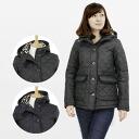 Mackintosh MACKINTOSH ladies Quilted Jacket GRANGE SHORT [grunge shorts, 2 colors black / Navy 7171E TZ 01 BLACK/02 NAVY