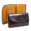 Cox White House tri-fold wallet with coin into Havana Brown / Newton THREE FOLD PURSE S7660/SR1112 HAVANA/NEWTON (JP) WHITEHOUSE COX White House character White House Cox