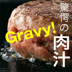 驚愕の肉汁ハンバーグ