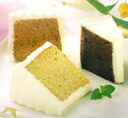 ★ tea chiffon cake? s set frozen, 6 pieces] (U) ★