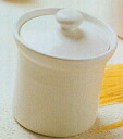 ★Two white kitchen pot (the small) set /10%OFF ★( 0075-4926)