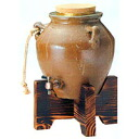 ★ ★ a00-l-3112-1-s1 Tokoname pot Server 5 l with wood 10% off!