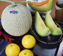 ★! • High quality muskmelon and Tosa konatsu value set ★ * COD fee +210 Yen is required