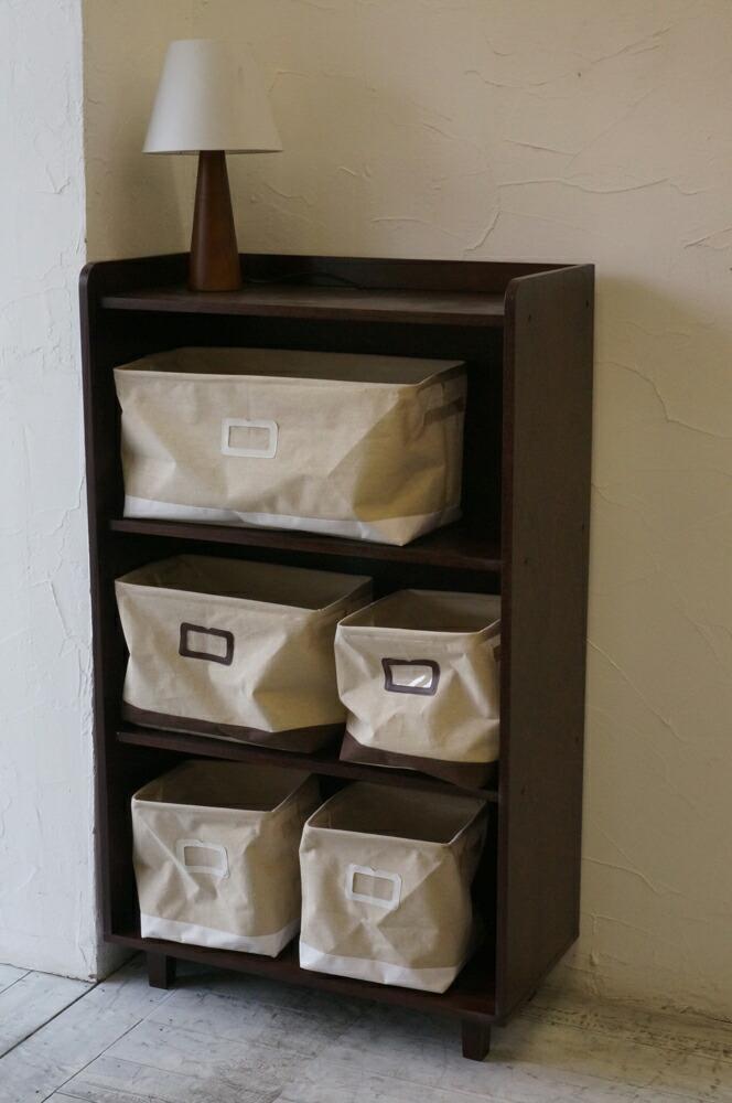 modern vintage Morvie Smart shelf walnut brown