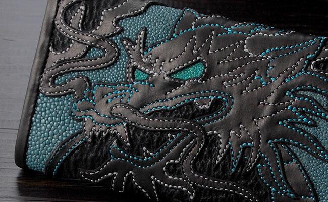 ONE TOO MANY(ワントゥーメニー):3 Fold Wallet/Water Dragon(3ホールドウォレット/ウォータードラゴン)