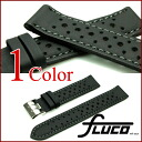 FLUCO Racing Leather Watch Strap