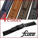 FLUCO Chrono Nabucco Leather Watch Strap
