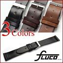 ◆ フルーコ FLUCO ◆ Horween Shell Cordovan Unlined Horween shell cordovan for アンラインド wrist watch, belt watch, watch band 18 mm 20 mm22mm