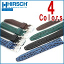 ◆ Shark HIRSCH Hirsch shark 100 M water resistant leather for watches, watch belts, watch bands 14 mm16mm 17 mm18mm 19 mm20mm