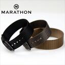 ◆ 마라톤 ◆ MARATHON US MIL 사양 스트랩 시계 용 ・ 시계 벨트 시계 밴드 16mm20mm 20mm 엑스트라 롱