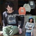 SALE Barnes * Relax & Biryukov ★ gauze tenjiku crew long sleeve t-shirt