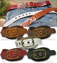 Punching ★ leather belt!