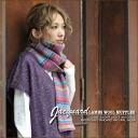 LAMBS WOOL ★ Jacquard knit scarf!