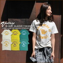 [CUBE SUGAR] cubic sugar * old clothes style aloha HAWAII vintage T-shirt♪