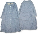 Chambray * shirt coat ★ one piece