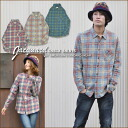 SALE Jacquard check long sleeve shirt