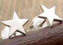 STAR ★ pierced earrings
