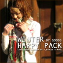 Sugar cubes [muffler & cow leather belt gadgets ★ 6 pieces] Happy Pack winter grab bag ~ ♪ BY GOODS goods version ==