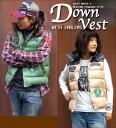 Badge ☆ down vest