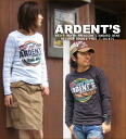 ARDENT's ☆ W face T shirt