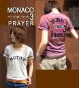 MONACO ☆ embroidery T-shirt