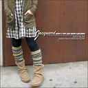 Jacquard ★ knit reshuffling leggings
