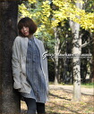 Become calm; a gauze ★ dolman long cardigan