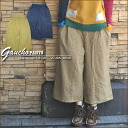 Raised cotton ★ gaucho pants♪