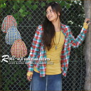 11 Anniversary commemoration just SALE60% [Kansai girls style listings] [rollup] check regular shirt ♪ [shipping]