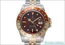 Rolex GMT Master Ref.16753 ブラウンフジツボ (nipple) dial-in 1985 (the ROLEX GMT MASTER Ref.16753 BROWN NIPPUR DIAL Ca.1985)