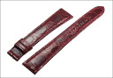 Alpha Omega Cartier マストタンク シャイニーワインレッド crocodile strap made in Japan special luxury watches for belts, band Ref.CA08SWRD