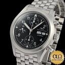 IWC mechanical vlieger chronograph Ref.3706-007 IW370607 black dial