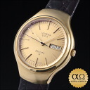 Seiko quartz 38 V. F. A. Ref.3823-7000 yellow gold in 1972