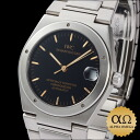 IWC horology company Ingenieur Ref.3521 black dial stainless steel 1993-1996