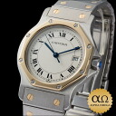 The Cartier Santos octaGon LM combination SS/YG 1990s