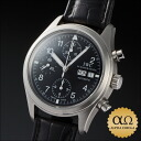 IWC horology company mechanical vlieger chronograph Ref.3706-003, IW370603 black dial-2002