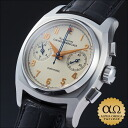 Girard Perregaux vintage 1960 chronograph Ref.2598 stainless steel ivory dial