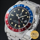1 Rolex GMT master Ref.16750 mark dial red blue ゼベルステンレススチール 1981
