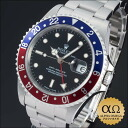 Rolex GMT master Ref.16700 red blue bezel stainless steel 1993