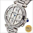 Cartier pasha 38mm grid Ref.W31040H3 stainless steel 2001