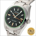 Rolex mil gauss Ref.116400GV green stainless steel 2011