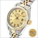 Rolex date Ref.6917 combination SS/YG champagne gold dial 1981