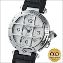 Cartier pasha 38mm grid stainless steel around 2000