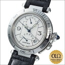 Cartier pasha 38mm GMT power reservation Ref.W3103755