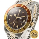Rolex GMT master Ref.1675/3 combination SS/YG rock barnacle (nipple) brown center split dial 1979