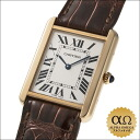 Cartier tank solo Ref.W5200004 yellow gold case SS back 2006
