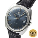 IWC international watch Company old interchange automatic Cal.8541B one piece case stainless steel blue dial 1973