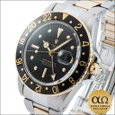 Rolex GMT master Ref.1675/3 combination SS/YG rock barnacle (nipple) black dial 1970